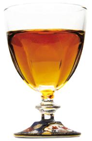 蘭麝酒グラス